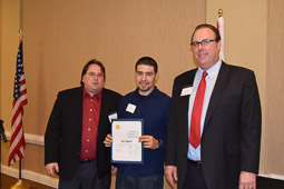 Joe Salazar, Apprenticeship Completion